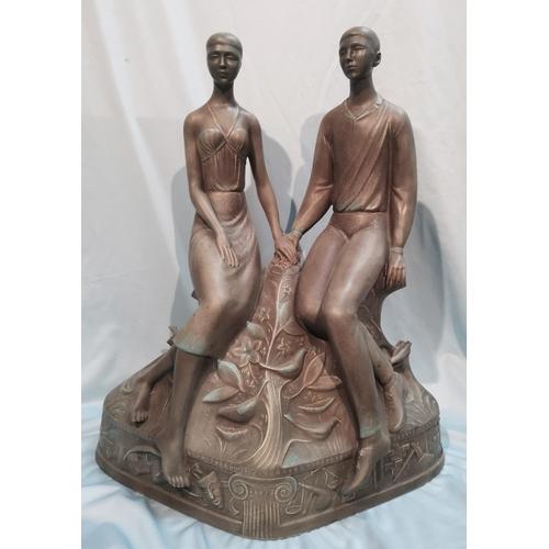 189 - A ceramic sculpture