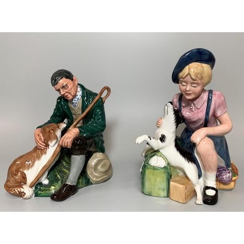 31 - 2  Royal Doulton figures