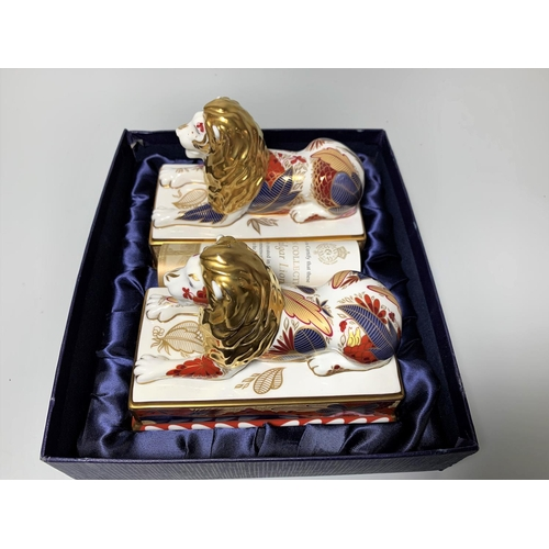 39 - A pair of Royal Worcester Ltd Edition