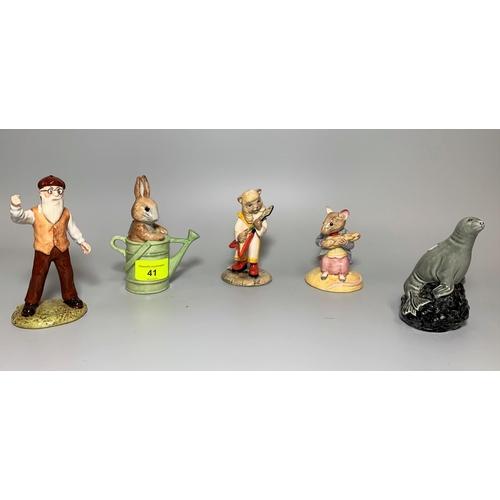 41 - 3 Beswick Beatrix Potter figures