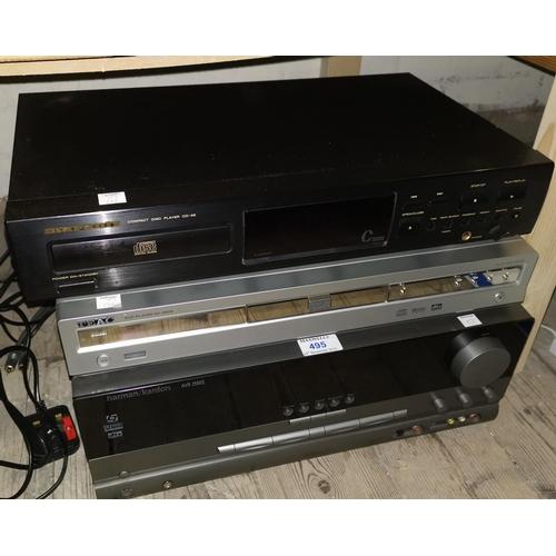 194 - A Harman-Kardon AVR 2550S; other Hi-Fi separates...