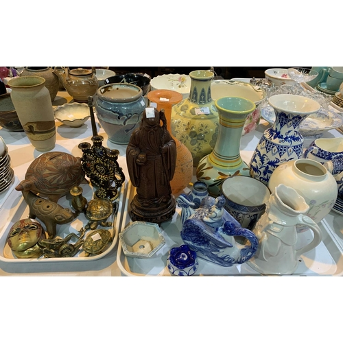 11 - A selection of decorative china and glass...