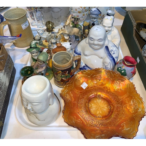 10 - A selection of glass china etc...
