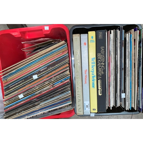 59 - A large selection of 1960's / 70's and other LPs, mainly easy listening...