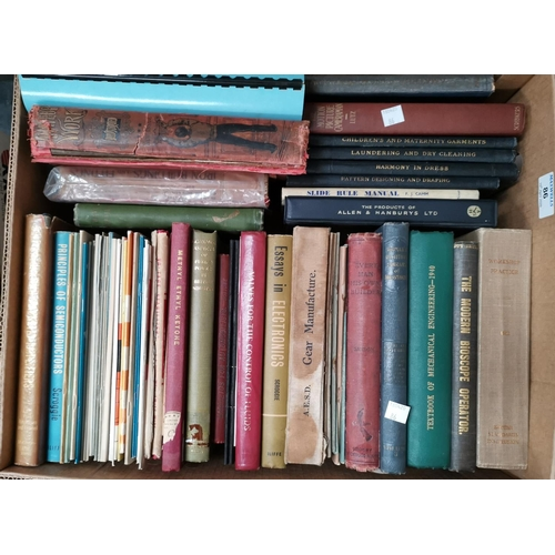 86 - A selection of books on domestic work, plumbing, laundry etc...