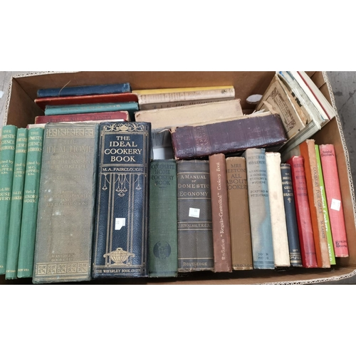 91 - Various editions of Mrs Beaton's Household Management , other similar cookery and house keeping book...