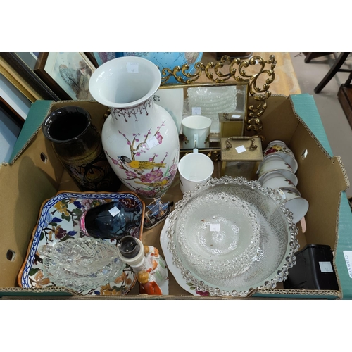 16 - A selection of decorative china; etc....