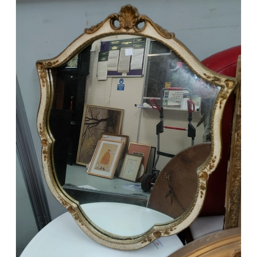 27 - A selection of wall mirrors...