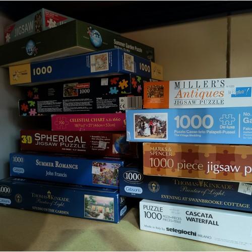 36B - A selection of jigsaws...
