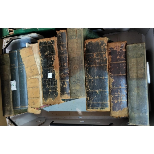 11 - A selection of 19th century and later books, some volumes on astrology...