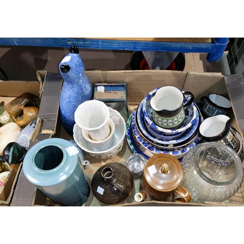 24 - A selection of decorative china; etc....