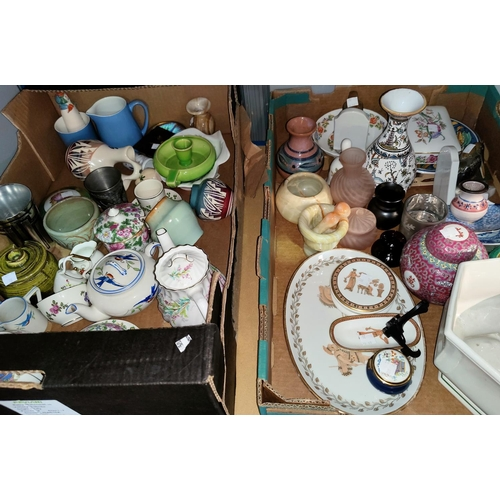 20 - A selection of decorative and miniature china; etc....