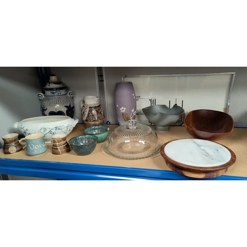 5 - A selection of large Rumtopf kitchenware etc...