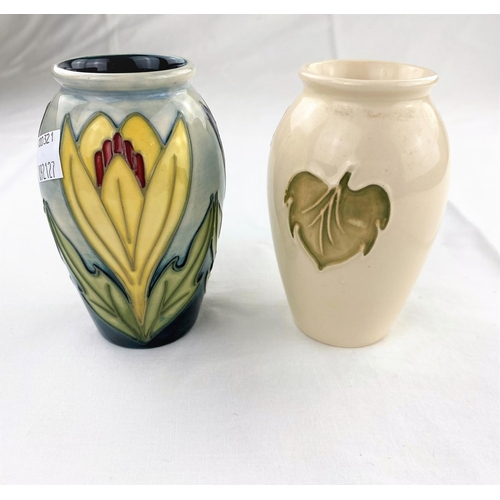 27 - A Moorcroft ovoid vase decorated in the