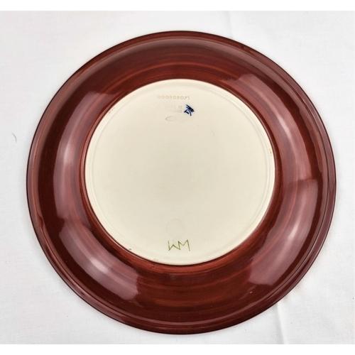 5 - A Moorcroft Tulip plate diameter 26cm