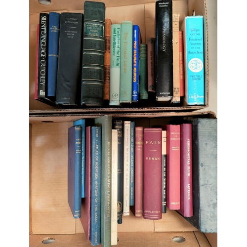 262 - A quantity of vintage medical books NO BIDS SOLD WITH NEXT LOT...