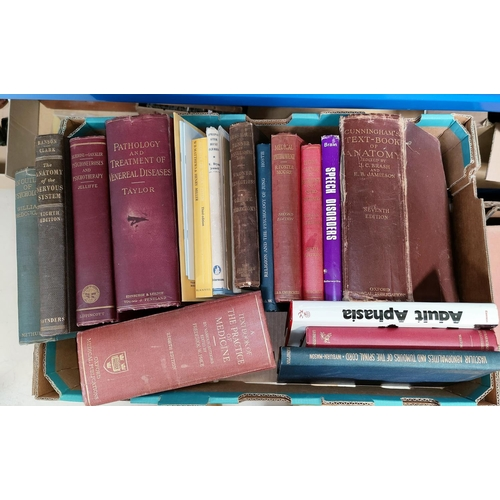 263 - A quantity of vintage medical books...