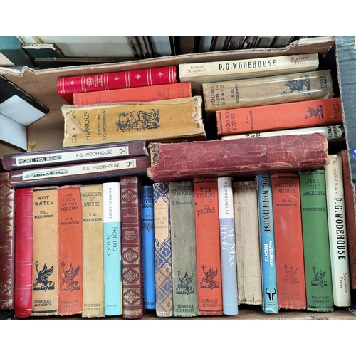 267 - A selection of P.G. Woodehouse hard backed books, mainly Herbert Jenkins publisher...