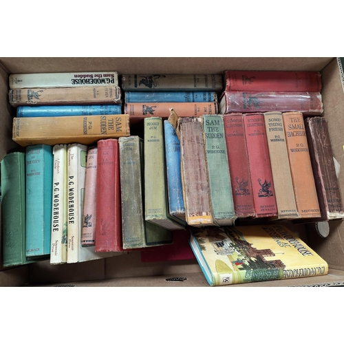 269 - A selection of P.G. Woodehouse hard backed books, mainly Herbert Jenkins publisher...