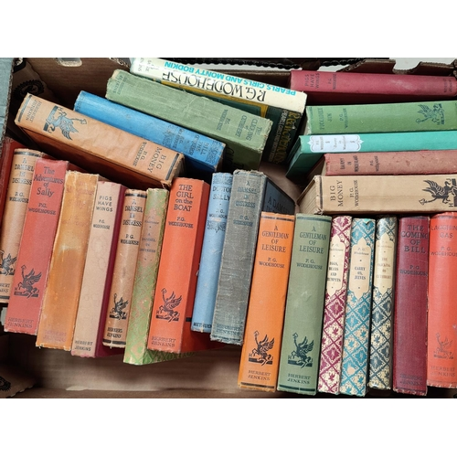 270 - A selection of P.G. Woodehouse hard backed books, mainly Herbert Jenkins publisher...