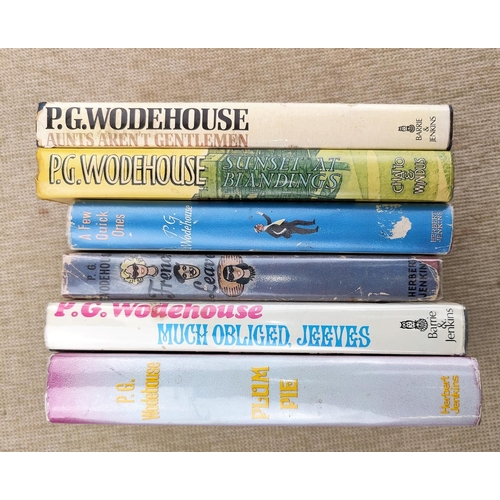 273 - 6 P.G. Woodehouse 1st editions in dust jackets...