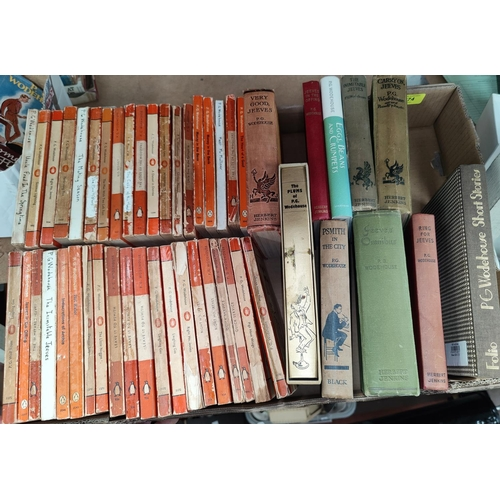 274 - A selection of P.G. Woodehouse paperback editions...