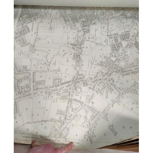 279 - MRS DOROTHY BULKELEYS CHARITY, Estate maps in Cheadle, Ordnance Survey 1937 and a related rolled map...