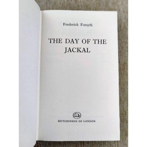 300 - FORSYTH (Frederick) - The Day of the Jackal, 1st edition dw, 1971...