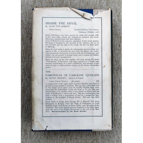 301 - BUDGEN (Frank) - James Joyce and the Making of ULysses, 1st edition, dw (some tears) 1934...