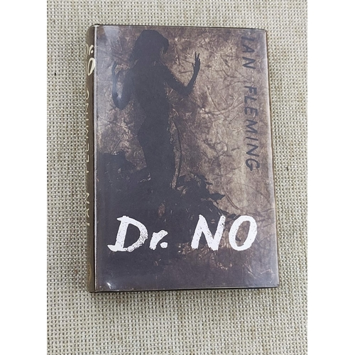 302 - FLEMING (IAN) - Dr No, 6th Impression, unclipped dust jacket in library cover, 1964...