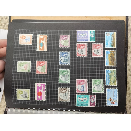 721 - BERMUDA - QEII definitives to £1; a collection of other Commonwealth mint stamps mounted in album...