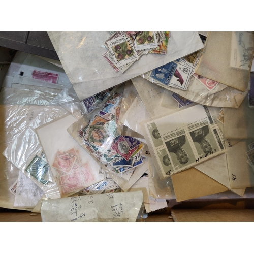 728 - A selection of packets of stamps...