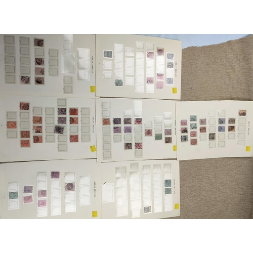 734 - GB - QV a selection of surface printed issues to 1s...