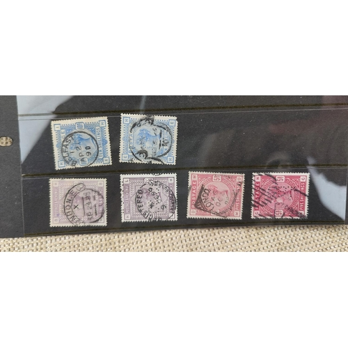 736 - GB - QV 1883-84 high values to 10s...