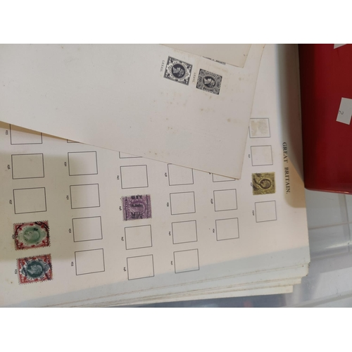 747 - British Stamps- QEII including high values etc various other stamps...