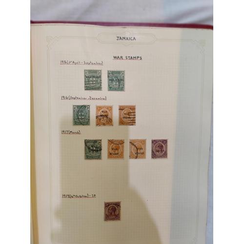 748 - JAMAICA - collection in album: AUSTRALIA - a collection in album, a stockbook of British Commonwealt...