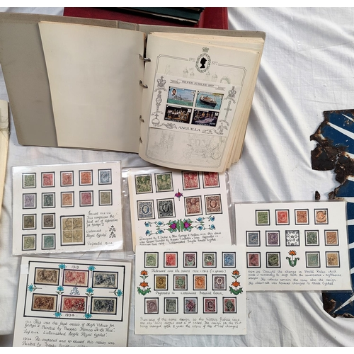 749 - GB & British Commonwealth, QEII silver Jubilee collection; GB high values...