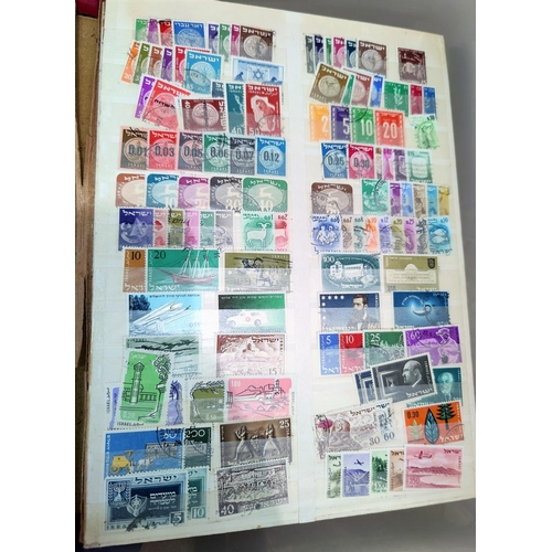730 - A quantity of stockbooks containing world stamps...