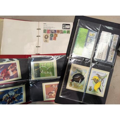 751 - 2 albums of FDC's & stamp album...