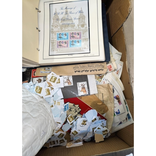 765 - A selection of stamps in albums and loose...