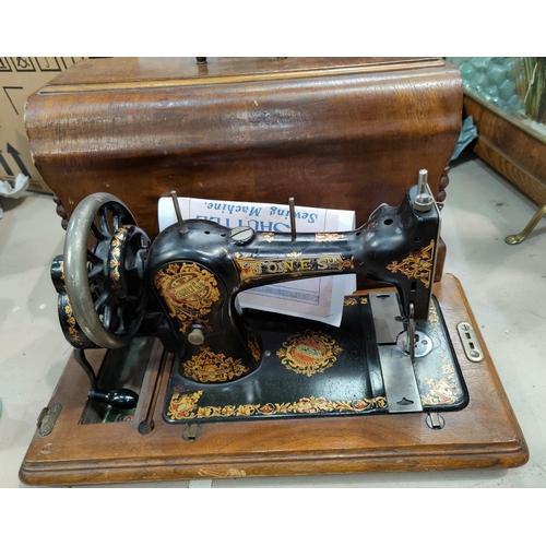 29A - A Jones Family sewing machine