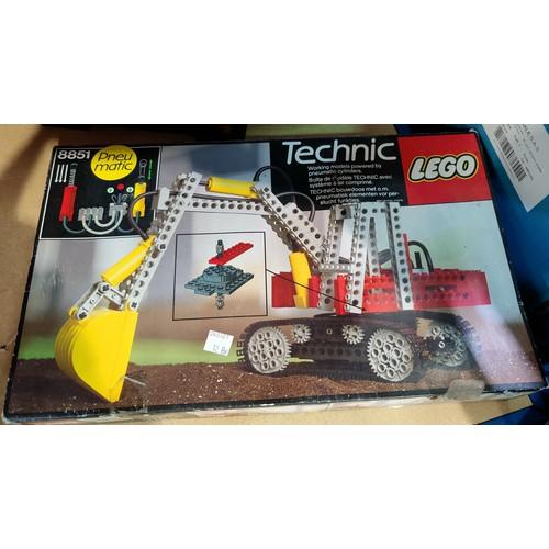 12B - A boxed Lego Techniques set (not guaranteed complete) etc