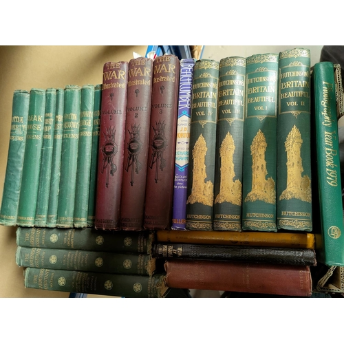 32 - Charles Dickens, 20 v; other library volumes...