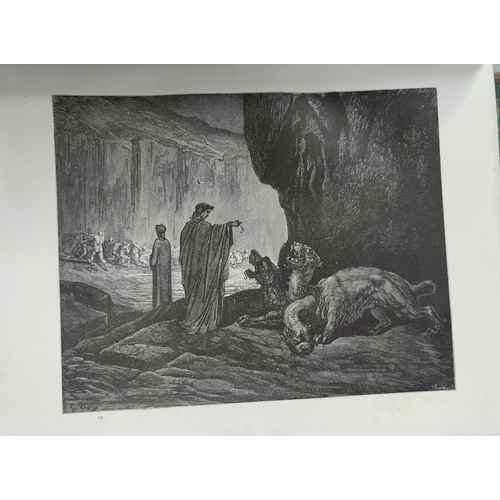 33 - Dante's Visions, 2 v, illustrated by Gustave Dore; other collectable books...