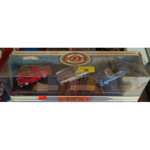 20 - A selection of Corgi and other vehicles, boxed and loose...