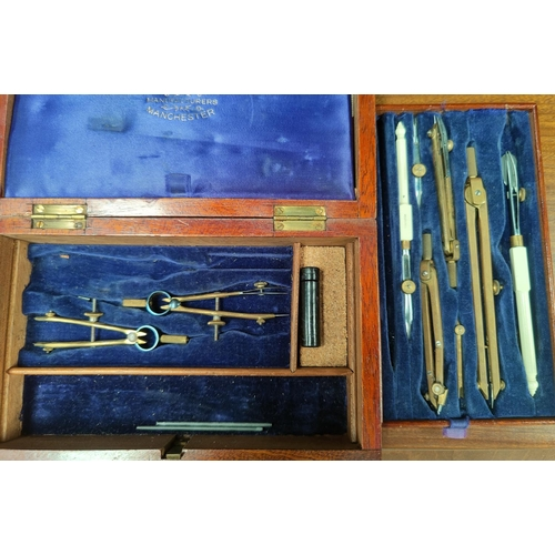 31 - A cased set of fish servers by William Angus of Liverpool; another set; a selection of ceramics; can...