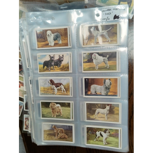 190a - Ten assorted sets of Players, Ogden and other cigarette cards and Kensitas Silks cards