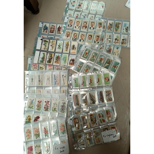 190E - 16 sets of Ogdens, Wills, Players cigarette cards including 'How to Swim', Roses II Series', '1930's...