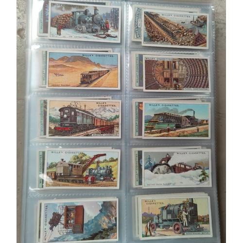 190F - 10 sets of Wills cigarette cards including Old Inns, Engineering Wonders etc...