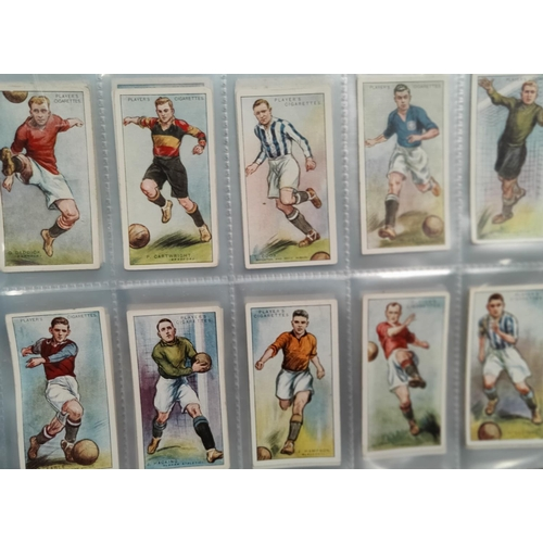 190G - 10 sets of Players cigarette cards including Tennis, 1934 Cricketers etc...
